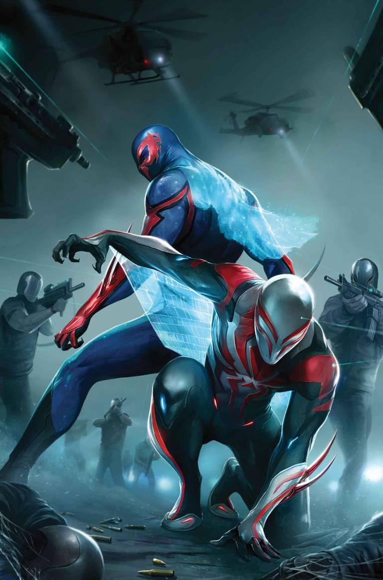Spider-Man 2099 #24 (Francesco Mattina Cover)