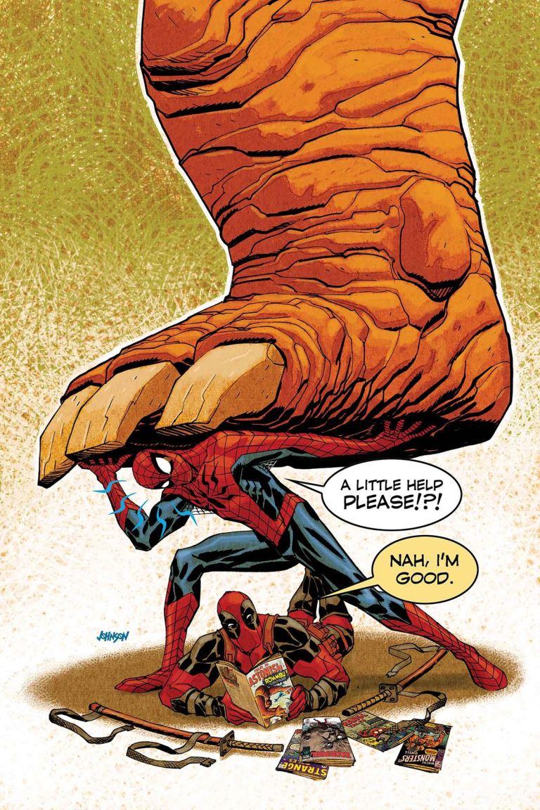 Spider-Man Deadpool #1.MU (Dave Johnson Cover)