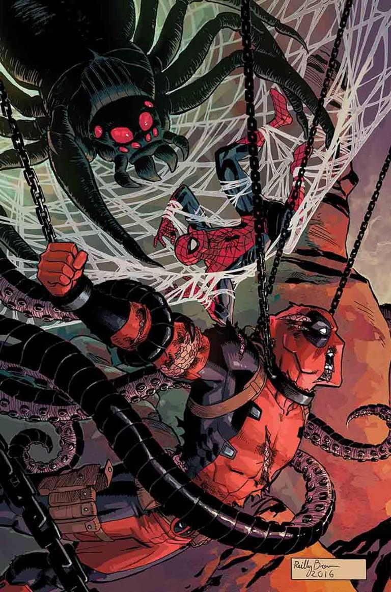 Spider-Man Deadpool #16 (Cover A Reilly Brown)