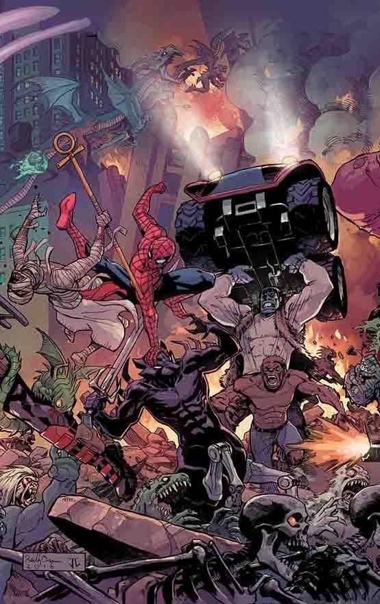 Spider-Man+Deadpool #15 (Reilly Brown Regular Cover)