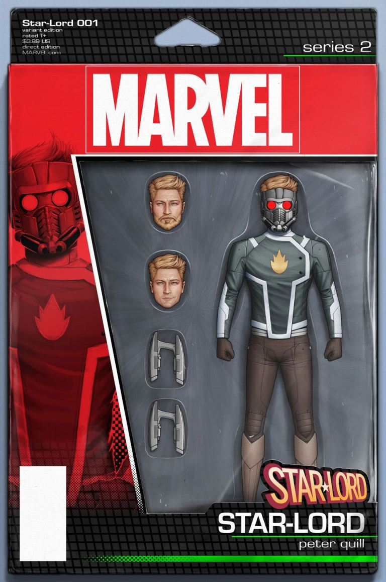 Star-Lord #1 (John Tyler Christopher Action Figure Variant Cover)