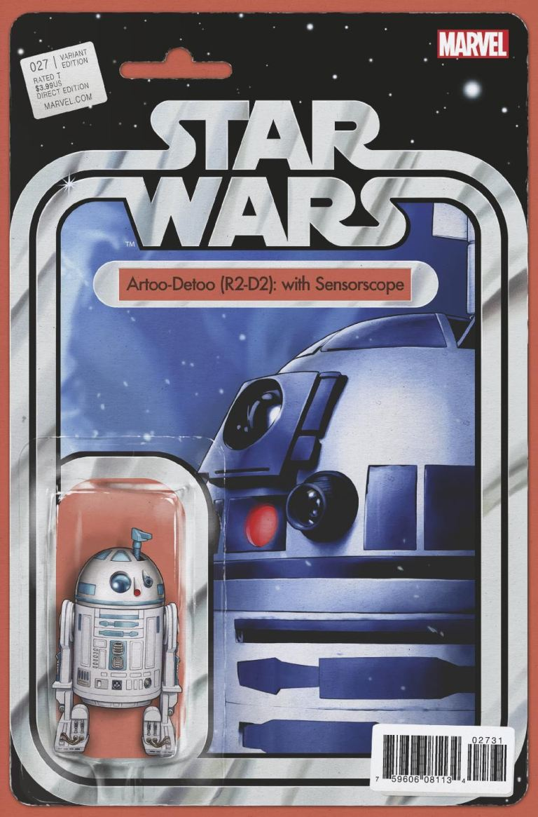 Star Wars #27 (Cover B John Tyler Christopher Action Figure Variant)