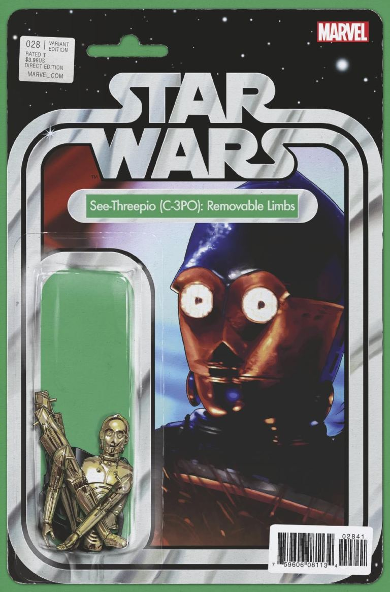 Star Wars #28 (Cover B John Tyler Christopher Action Figure Variant)