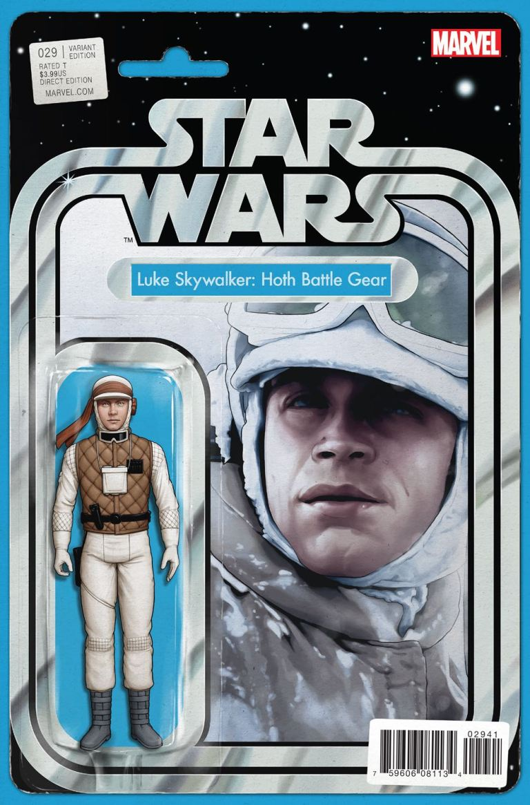 Star Wars #29 (John Tyler Christopher Action Figure Variant Cover)