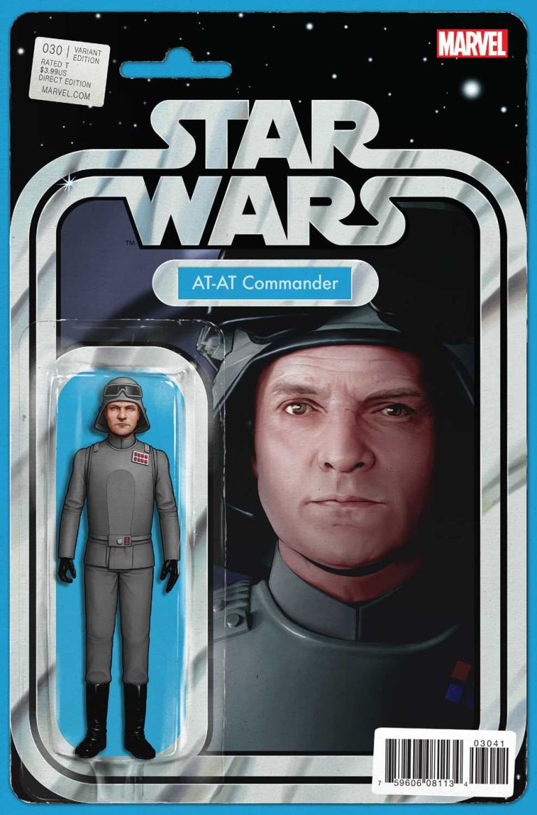 Star Wars #30 (Cover B John Tyler Christopher Action Figure Variant)