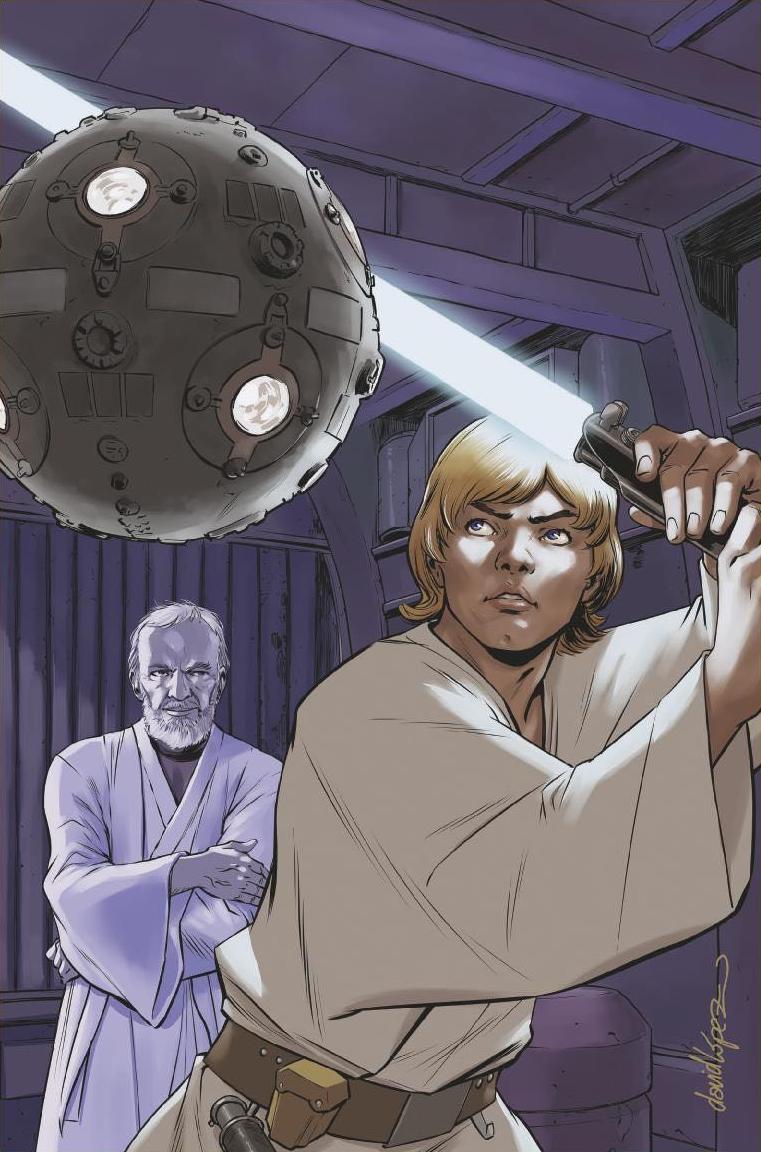 Star Wars #33 (Cover B David Lopez Star Wars 40th Anniversary Variant)