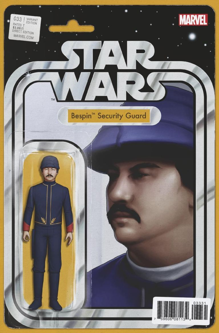 Star Wars #33 (Cover C John Tyler Christopher Action Figure Variant)