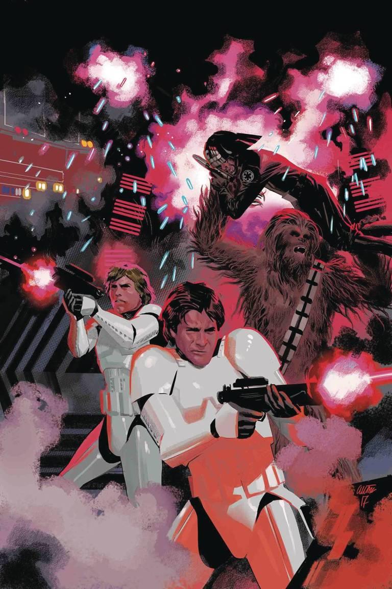 Star Wars #34 (Cover B Daniel Acuna Star Wars 40th Anniversary Variant)