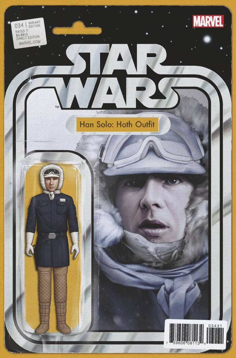 Star Wars #34 (Cover C John Tyler Christopher Action Figure Variant)