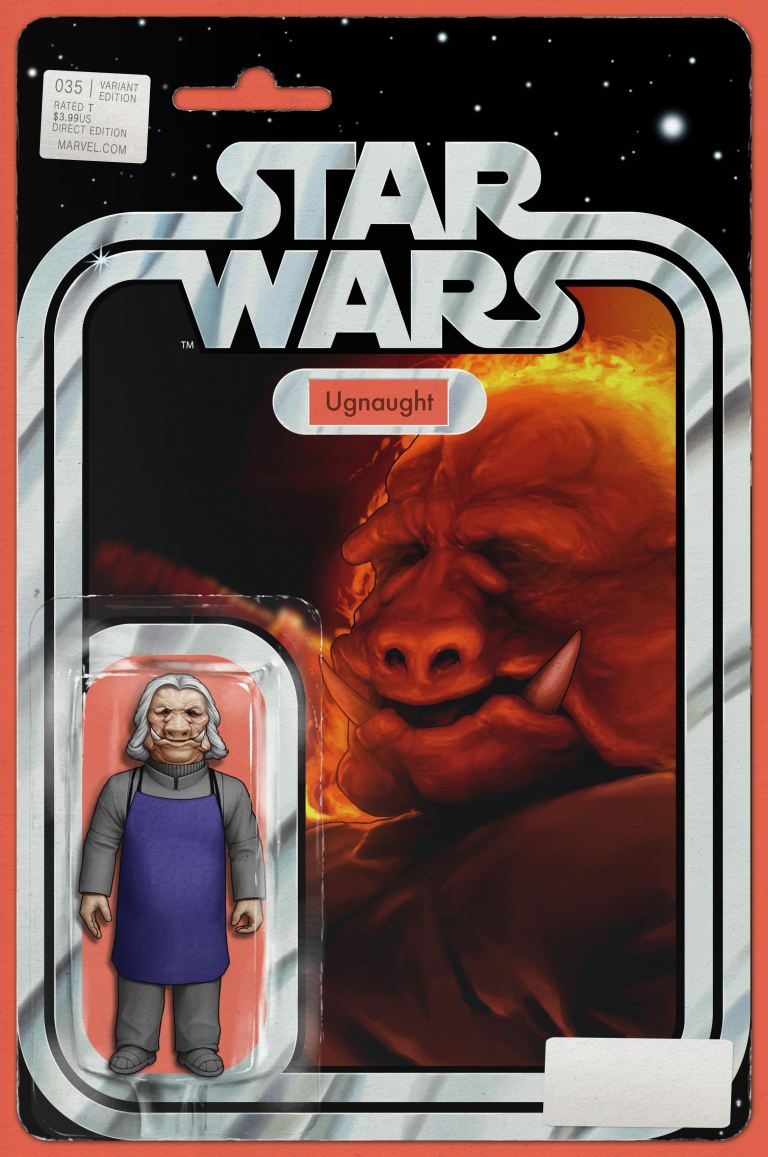 Star Wars #35 (Cover C John Tyler Christopher Action Figure Variant)