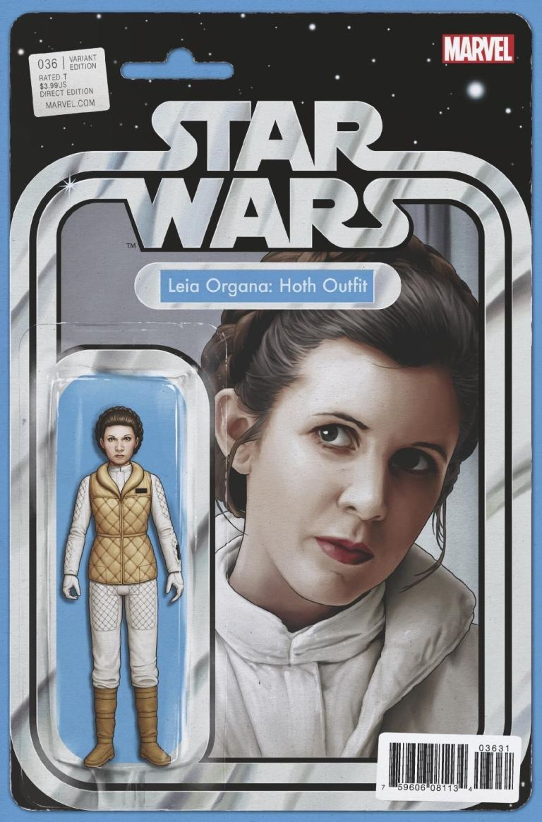 Star Wars #36 (Cover B John Tyler Christopher Action Figure Variant)