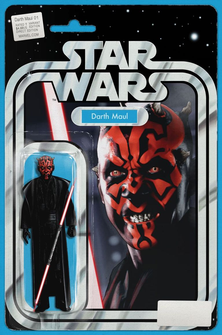 Star Wars Darth Maul #1 (John Tyler Christopher Action Figure Variant Cover)
