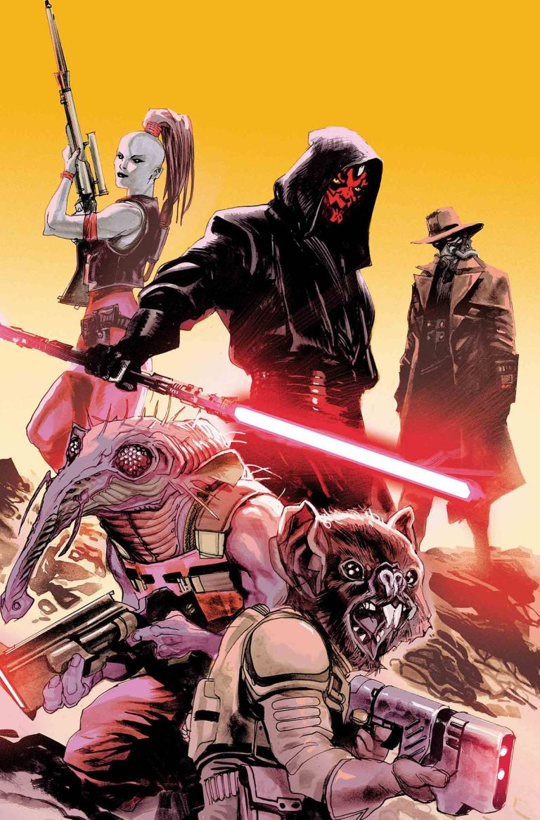 Star Wars Darth Maul #3 (Cover A Rafael Albuquerque)