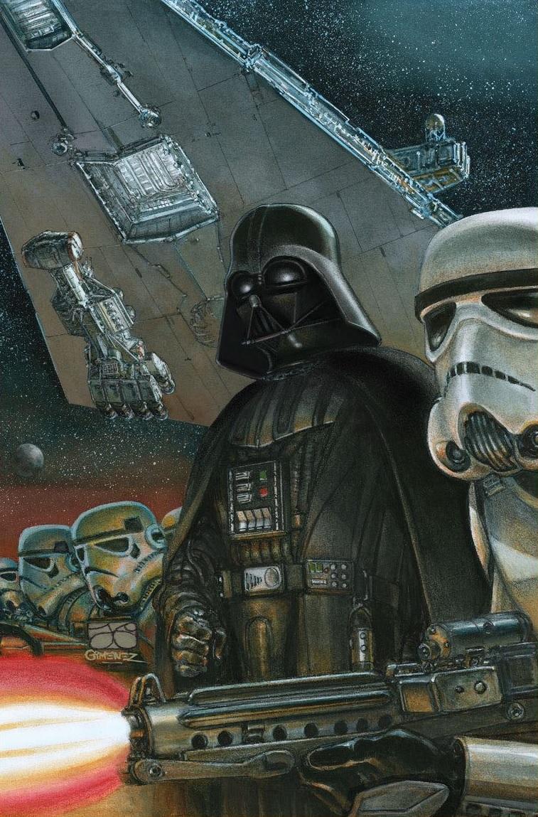 Star Wars Doctor Aphra #3 (Juan Gimenez Star Wars 40th Anniversary Variant Cover)