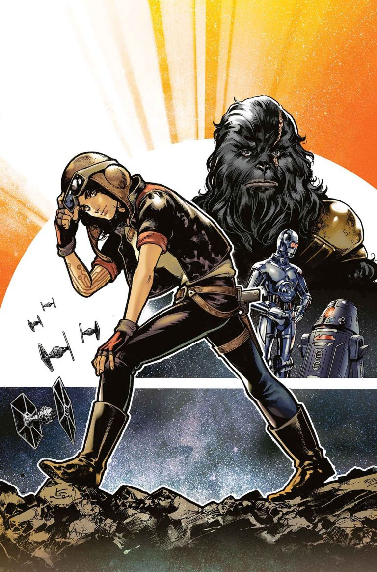 Star Wars Doctor Aphra #3 (Karmome Shirahama Regular Cover)