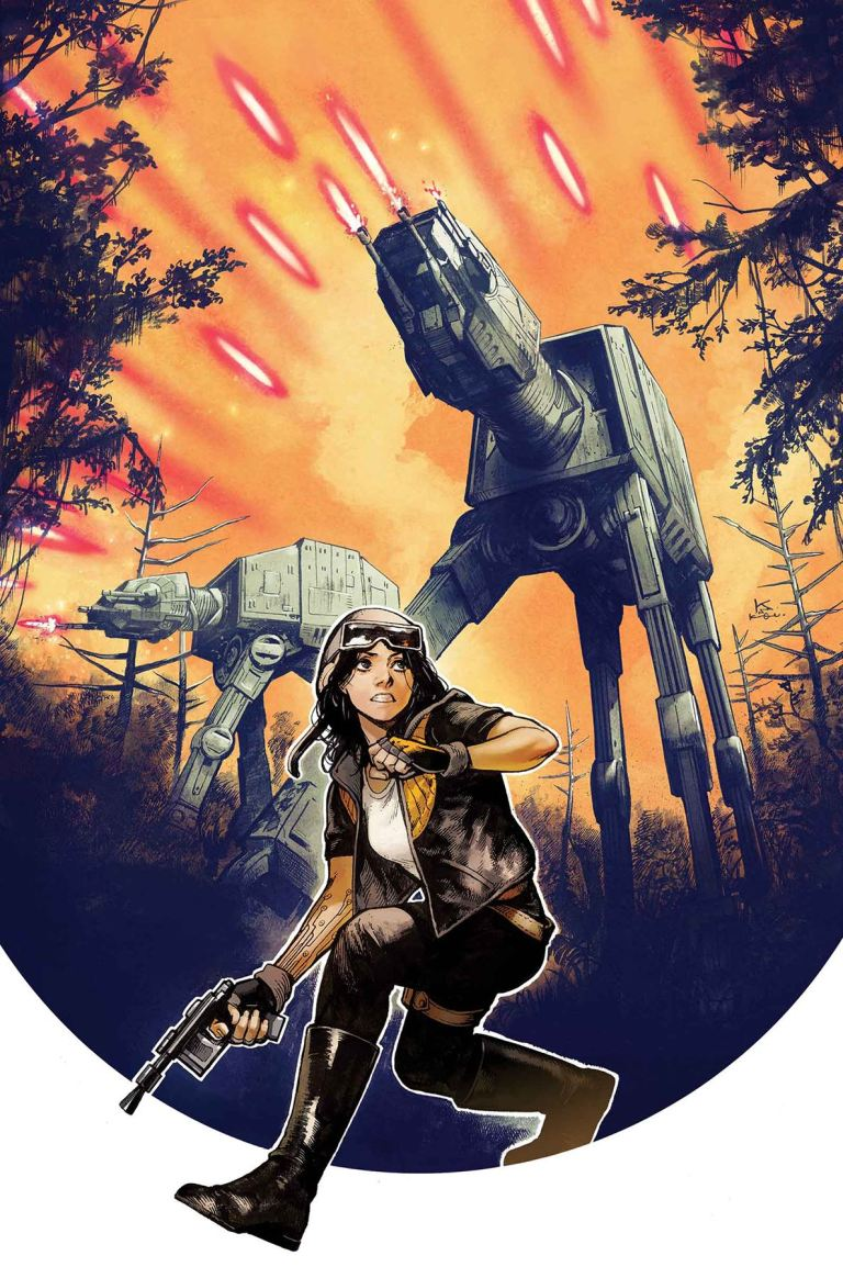 Star Wars Doctor Aphra #4 (Kamome Shirahama Regular Cover)