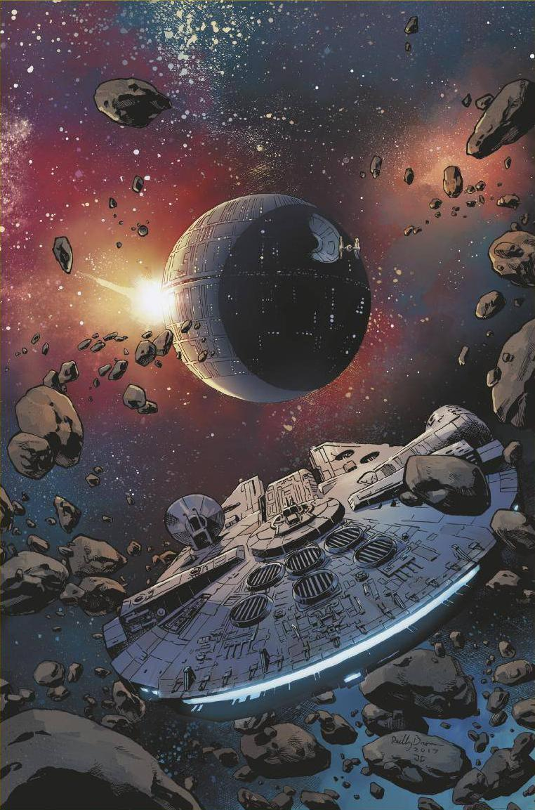 Star Wars Doctor Aphra #9 (Cover B Reilly Brown Star Wars 40th Anniversary Variant)