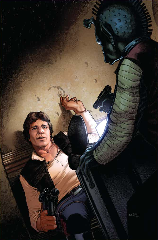Star Wars Poe Dameron #14 (Cover B Dave Marquez Star Wars 40th Anniversary Variant)