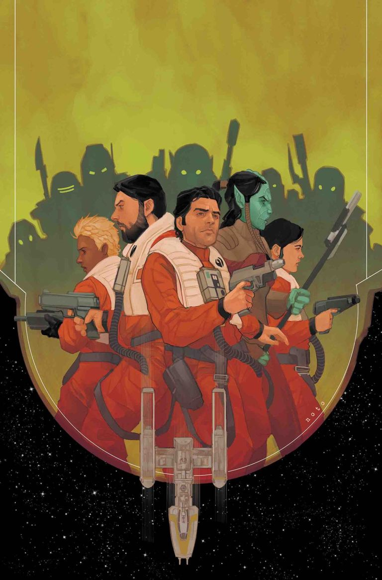 Star Wars Poe Dameron #19 (Cover A Phil Noto)