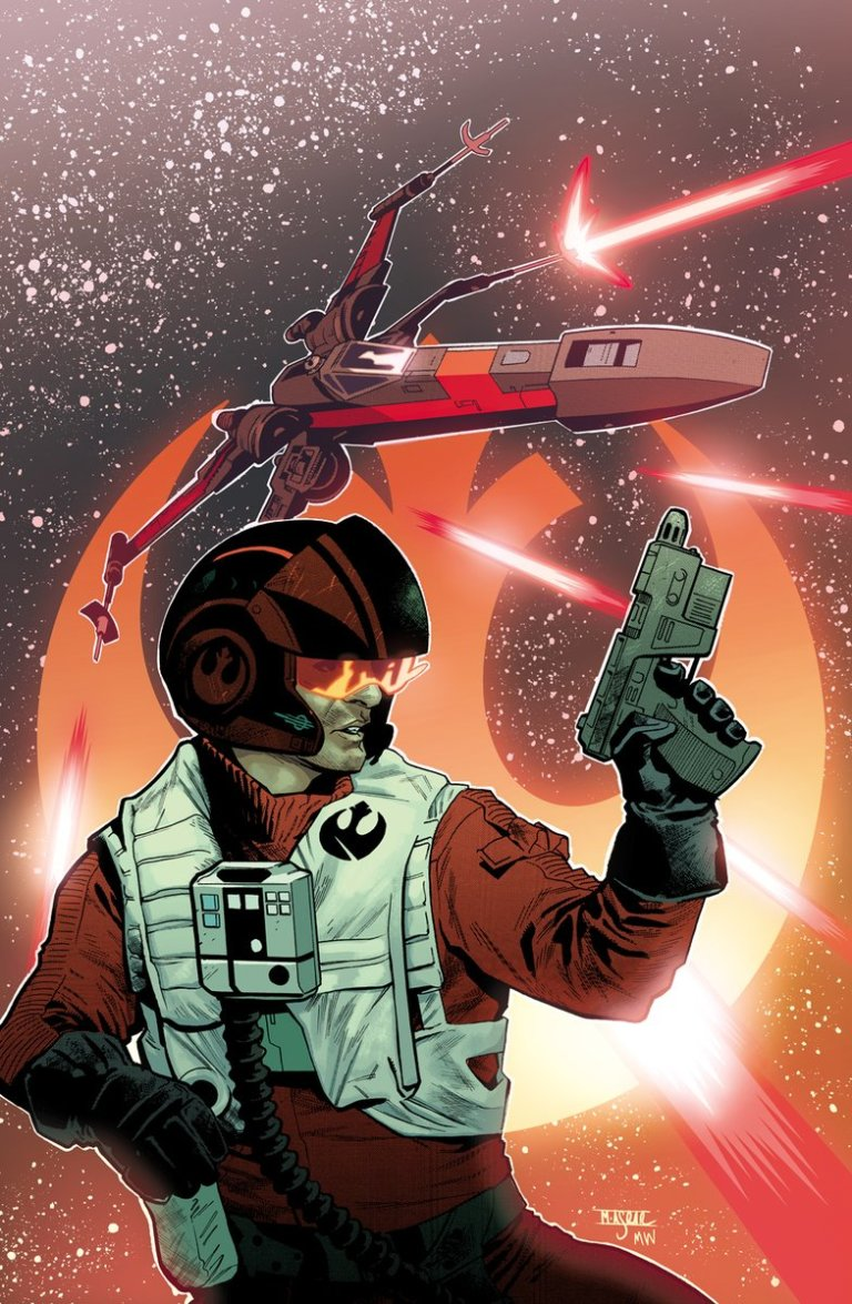 Star Wars Poe Dameron Annual #1 (Cover B Mahmud A. Asrar)