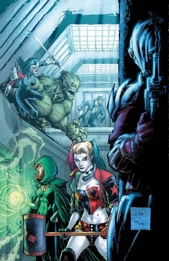 Suicide Squad #15 (Cover B Whilce Portacio)