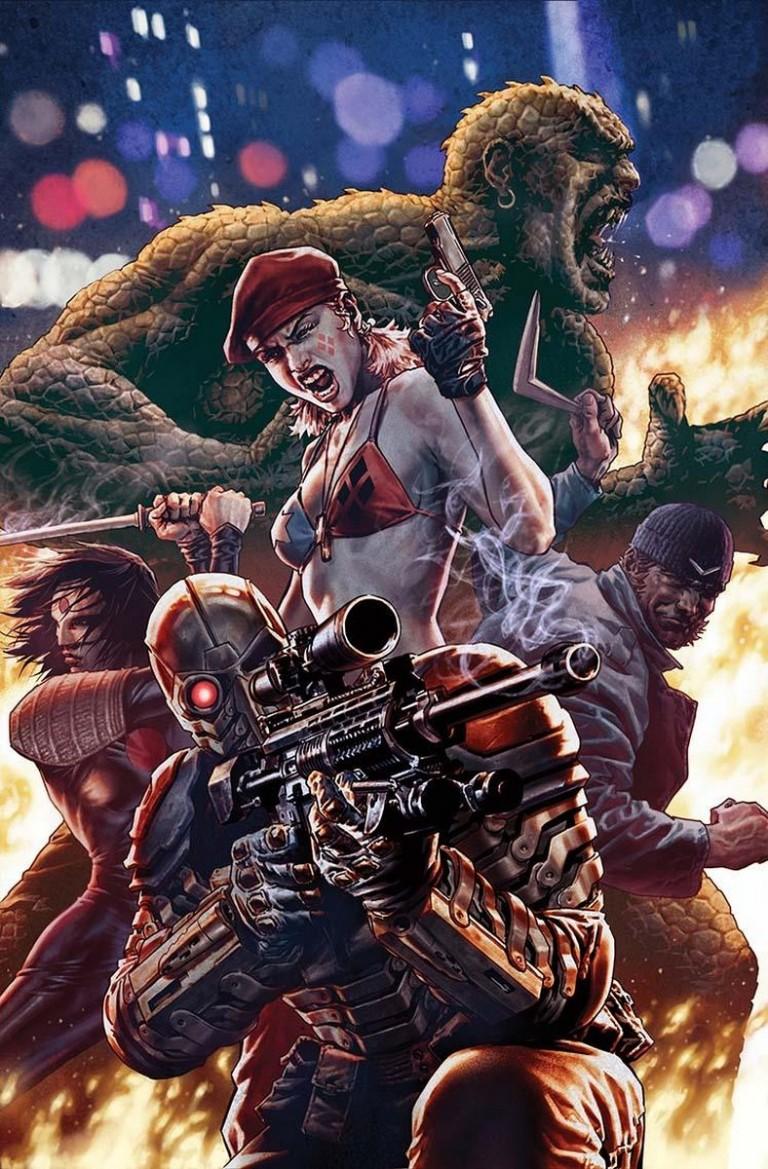 Suicide Squad #2 (Cover B Lee Bermejo)
