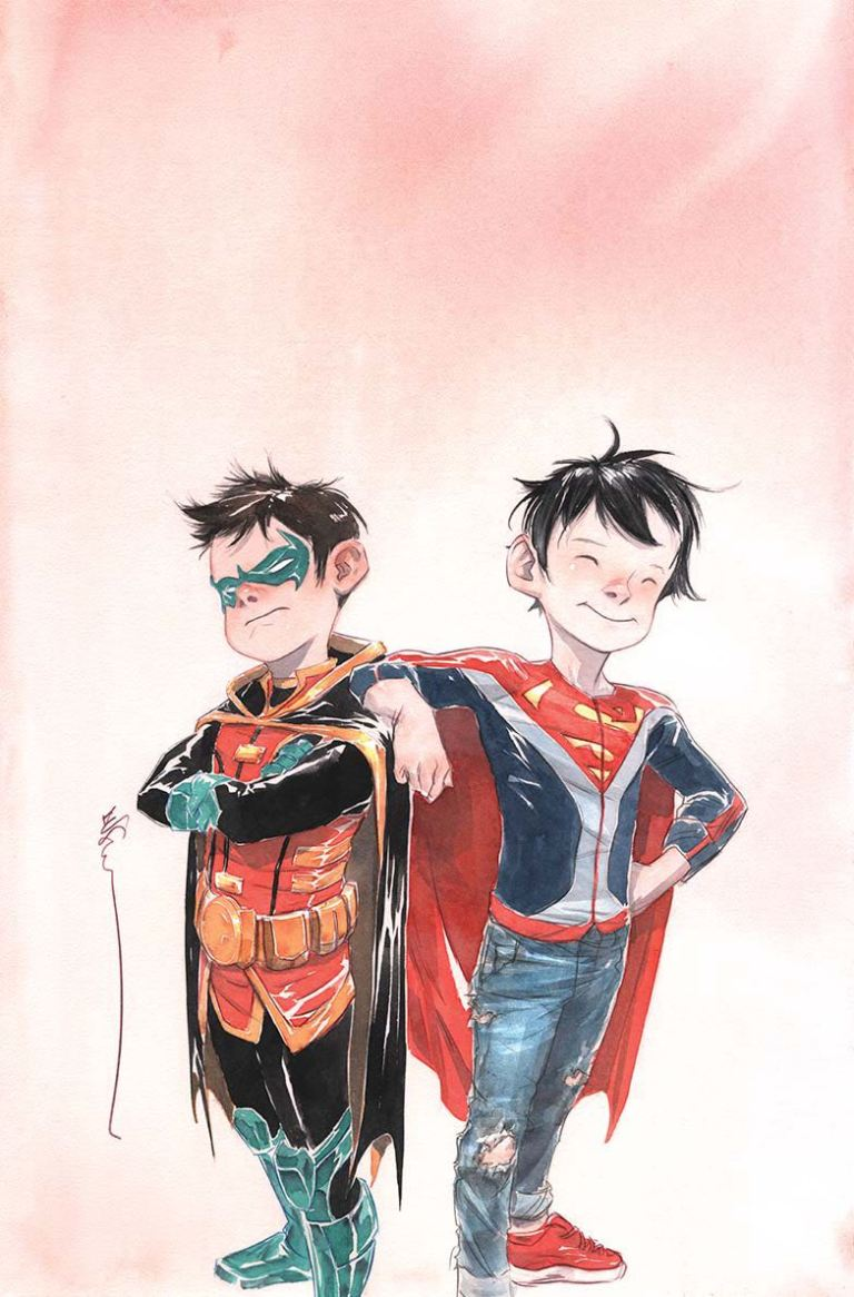 Super Sons #1 (Cover B Dustin Nguyen)