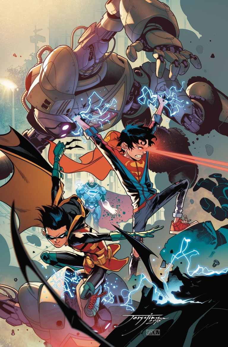 Super Sons #2 (Cover A Jorge Jimenez)