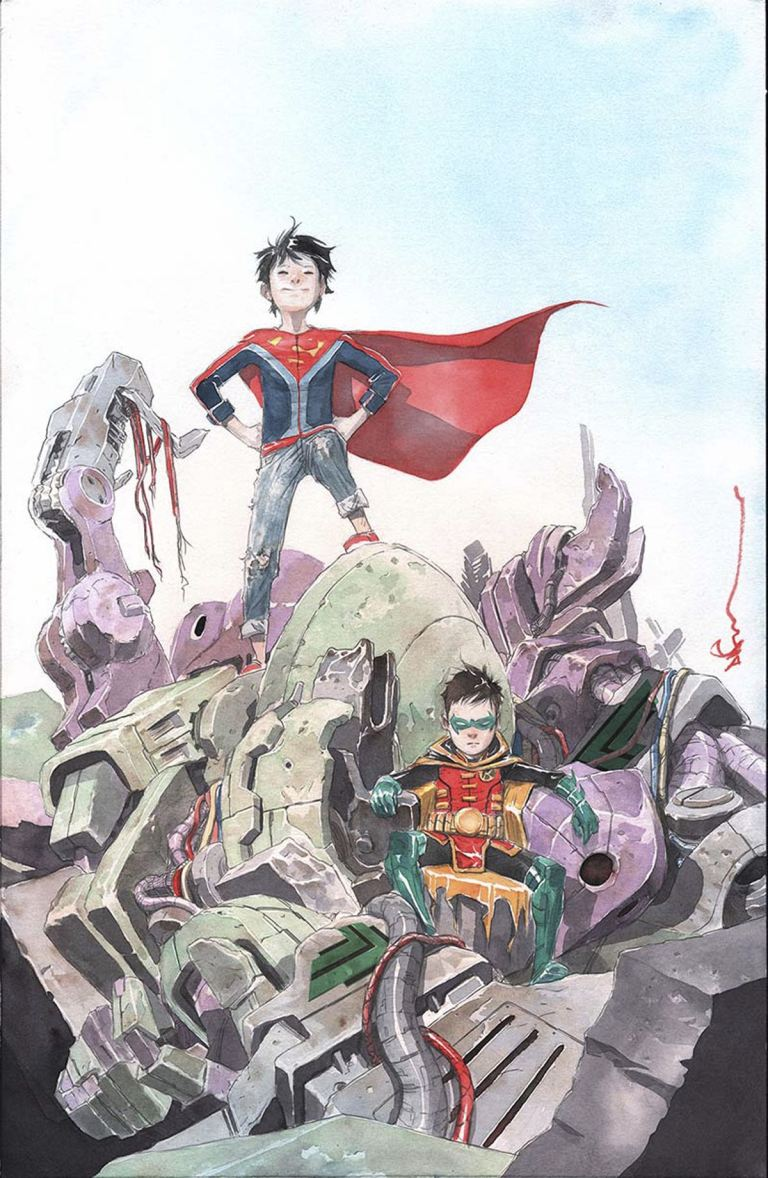 Super Sons #2 (Cover B Dustin Nguyen)