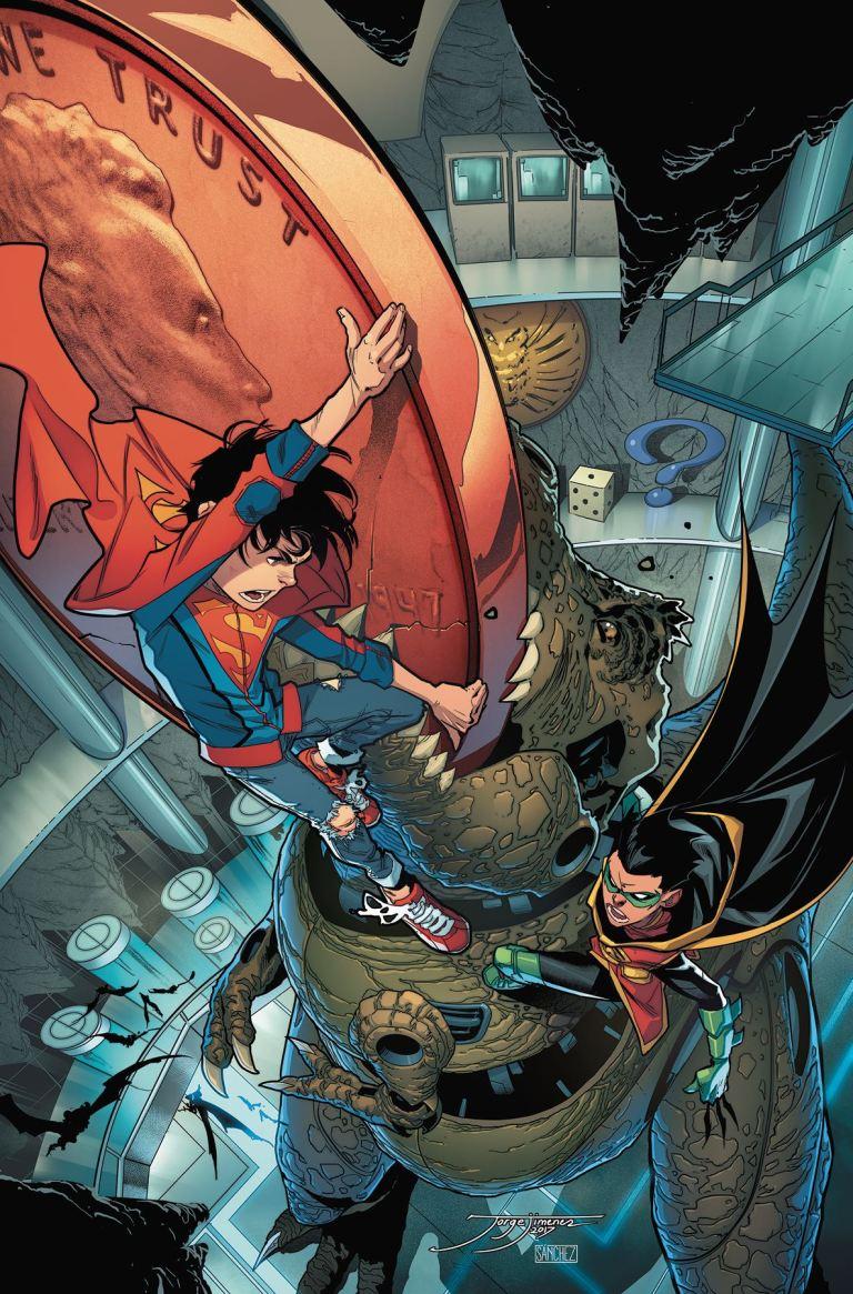 Super Sons #5 (Cover A Jorge Jimenez)