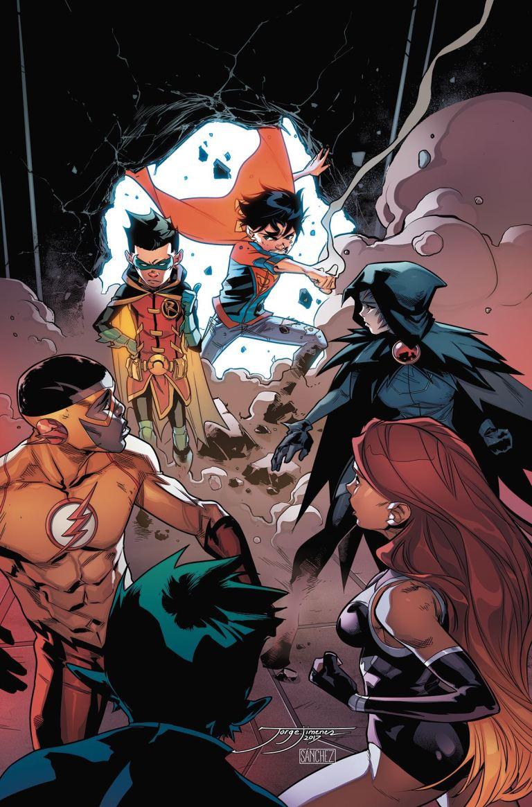 Super Sons #6 (Cover A Jorge Jimenez)