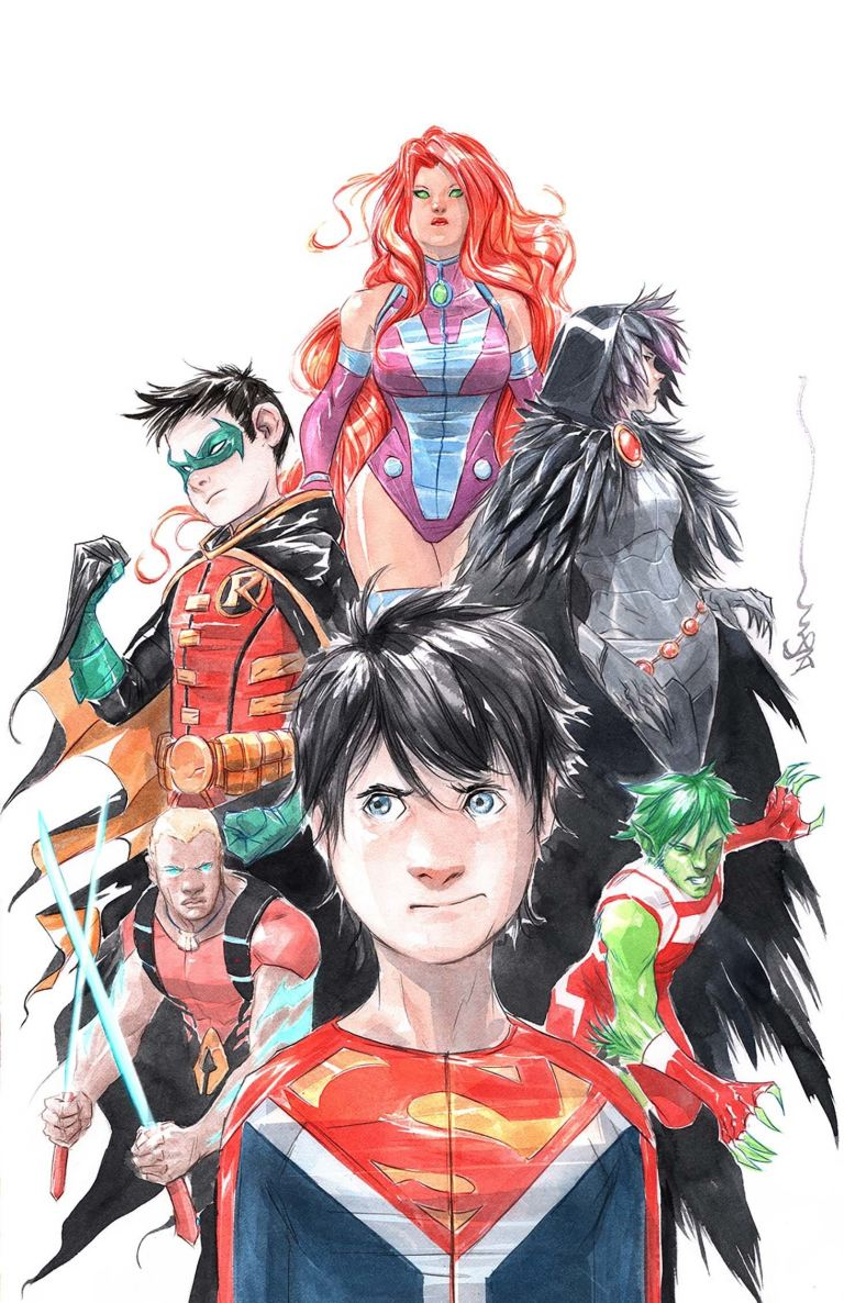 Super Sons #6 (Cover B Dustin Nguyen)