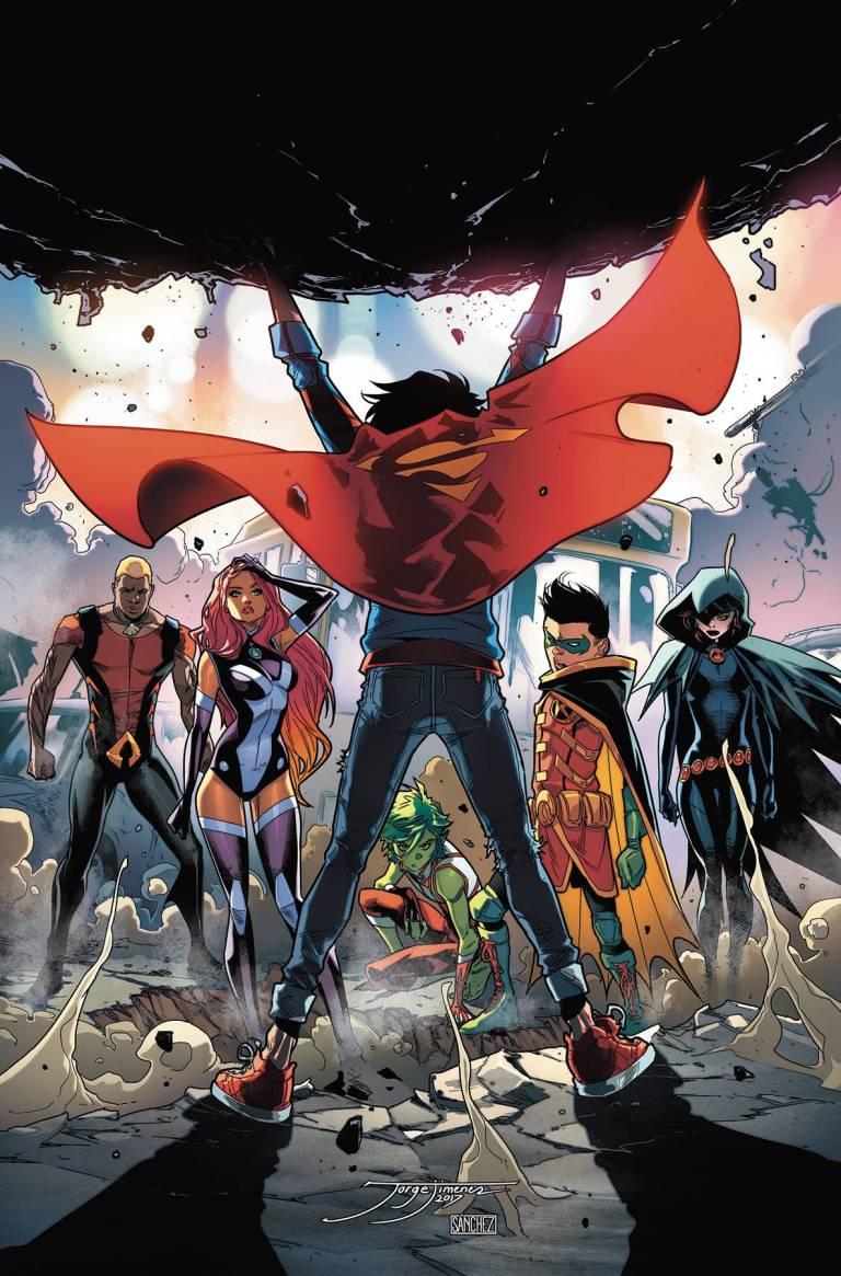 Super Sons #7 (Cover A Jorge Jimenez)