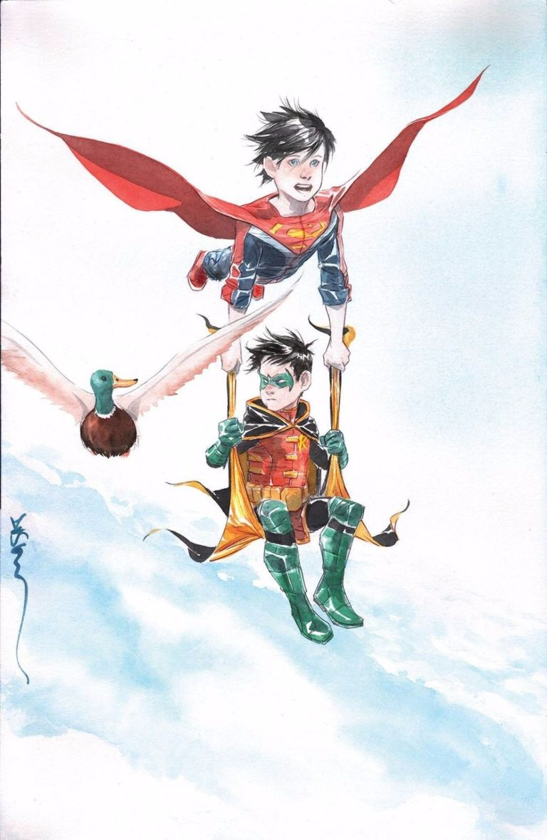 Super Sons #7 (Cover B Dustin Nguyen)