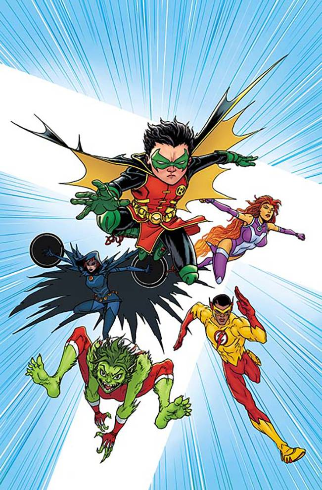 Teen Titans #1 (Cover B Chris Burnham)