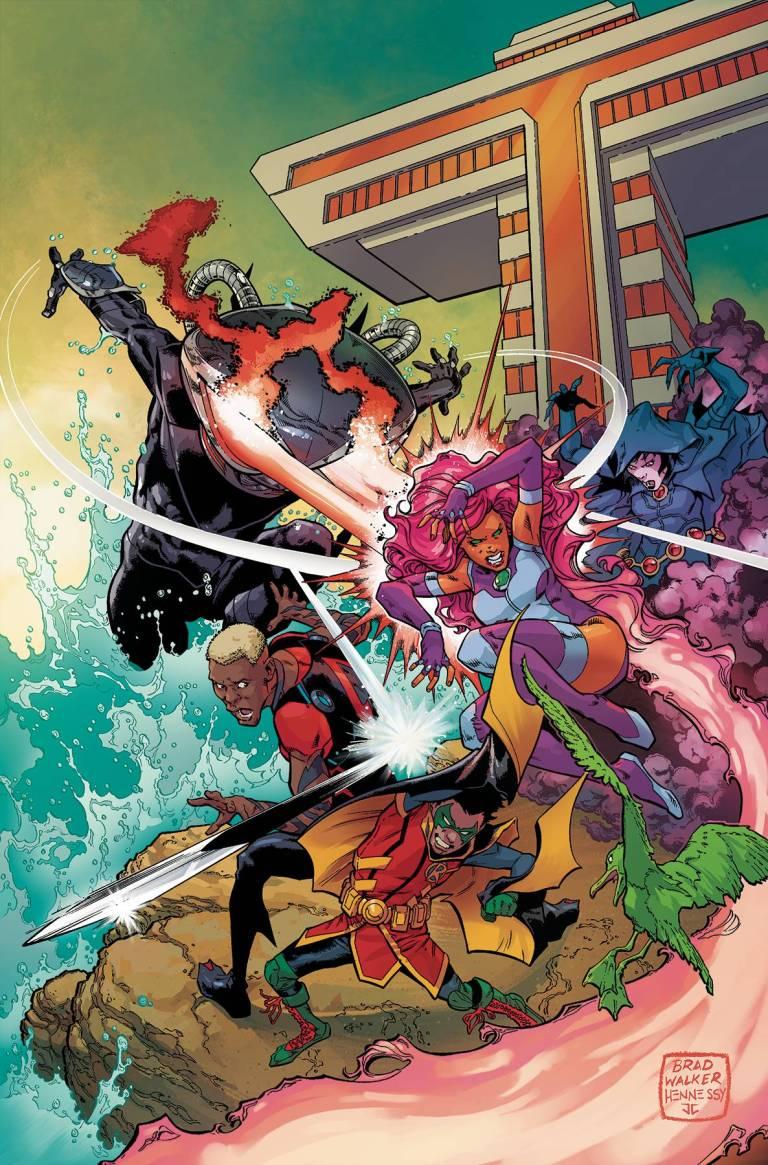 Teen Titans #10 (Cover A Brad Walker & Drew Hennessey)
