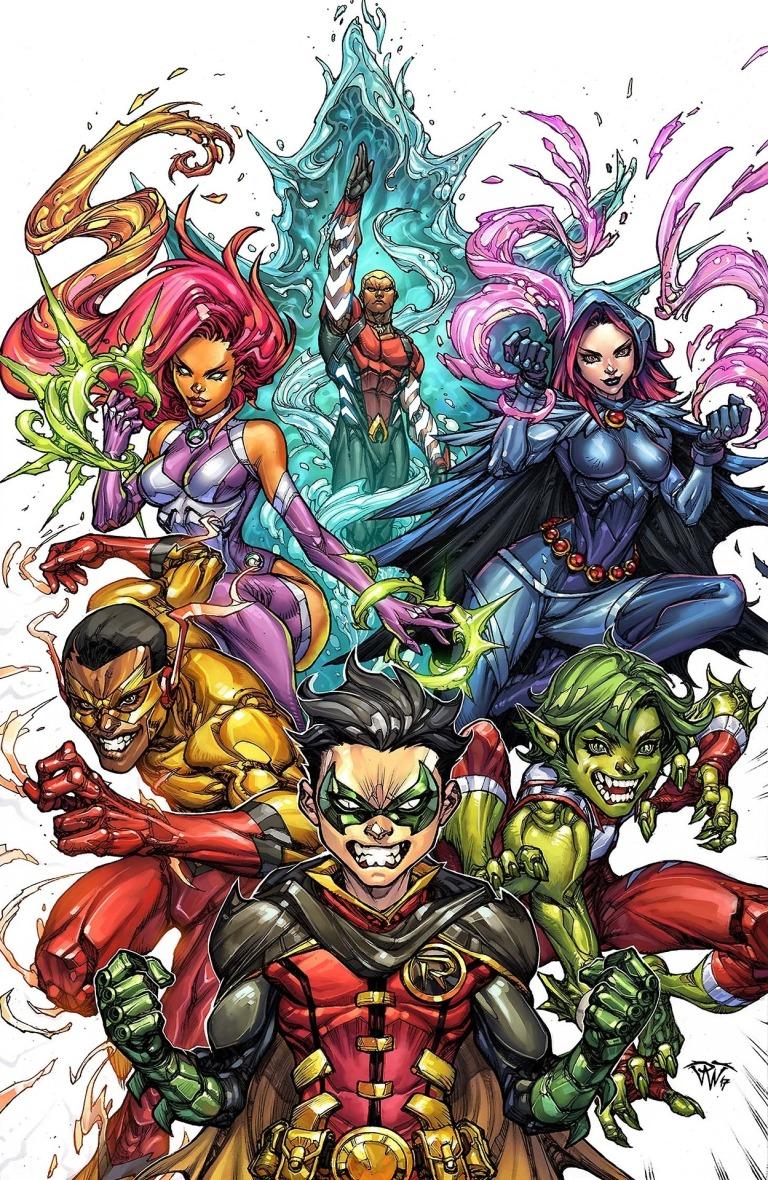 Teen Titans #10 (Cover B Paolo Pantalena)