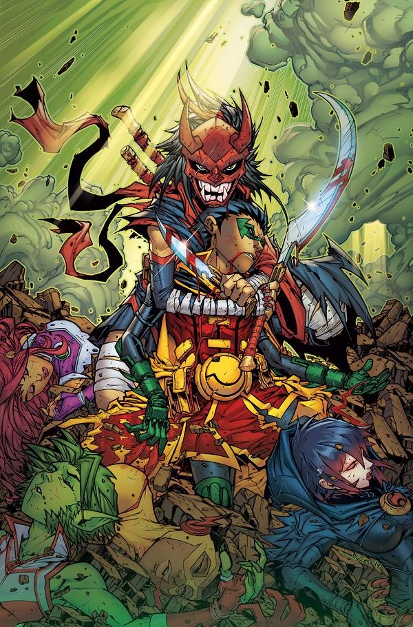 Teen Titans #3 (Cover A Jonboy Meyers)