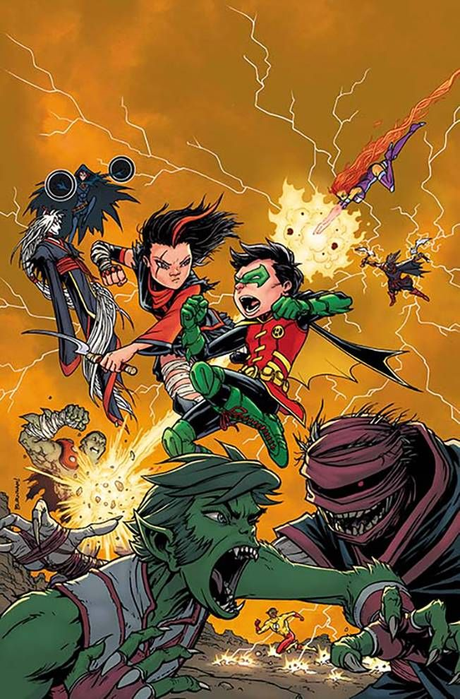 Teen Titans #3 (Cover B Chris Burnham)