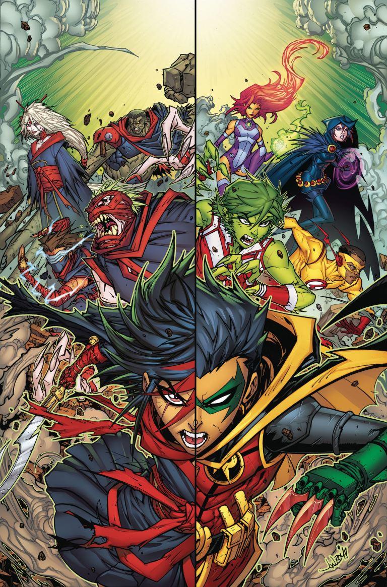 Teen Titans #5 (Cover A Jonboy Meyers)