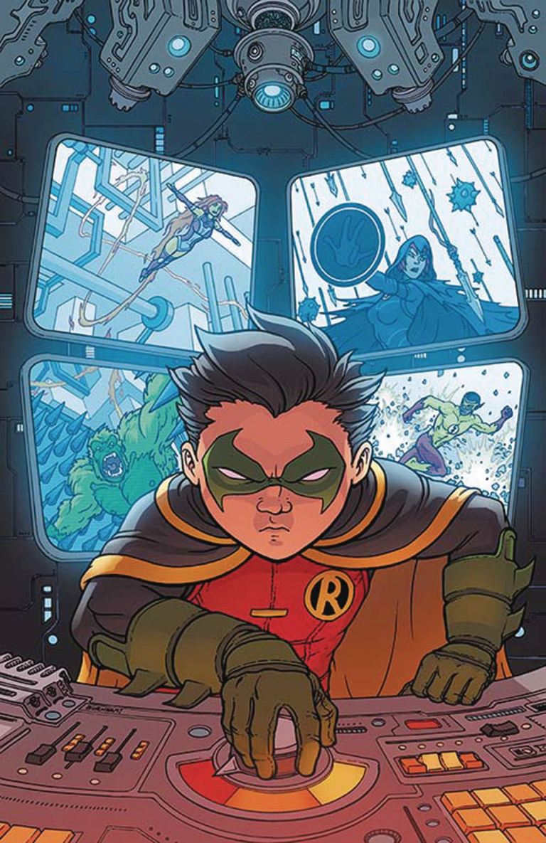 Teen Titans #5 (Cover B Chris Burnham)