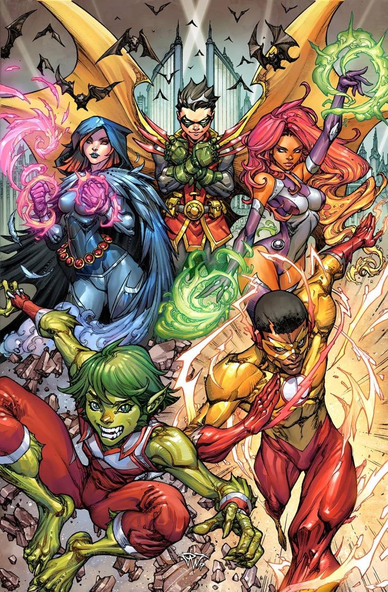 Teen Titans #9 (Cover B Paolo Pantalena)