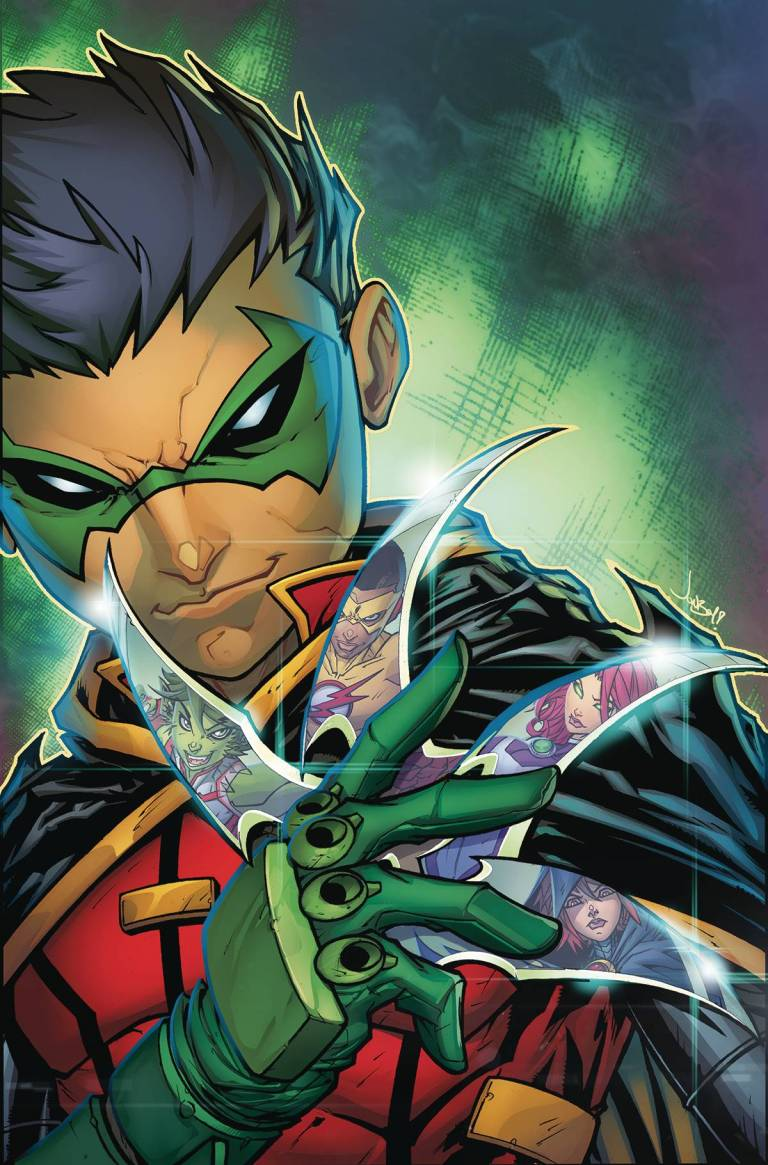 Teen Titans Rebirth #1 (Cover A Jonboy Meyers)