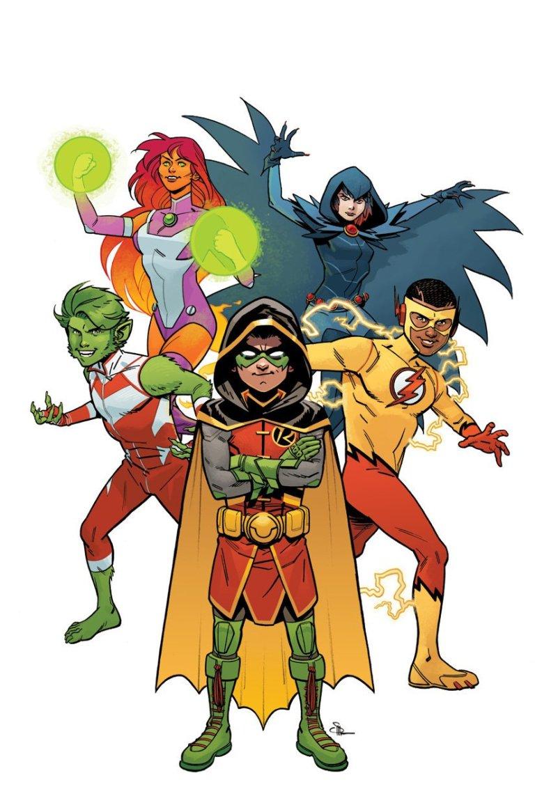 Teen Titans Rebirth #1 (Cover B Evan Doc Shaner)
