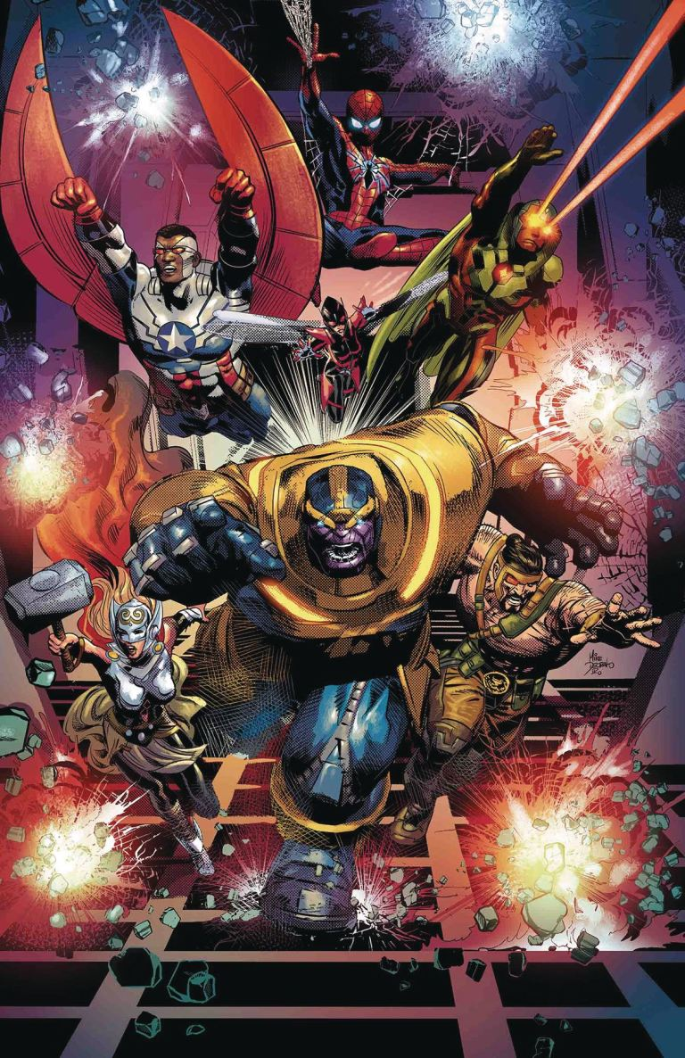 Thanos #10 (Cover A Mike Deodato Jr.)