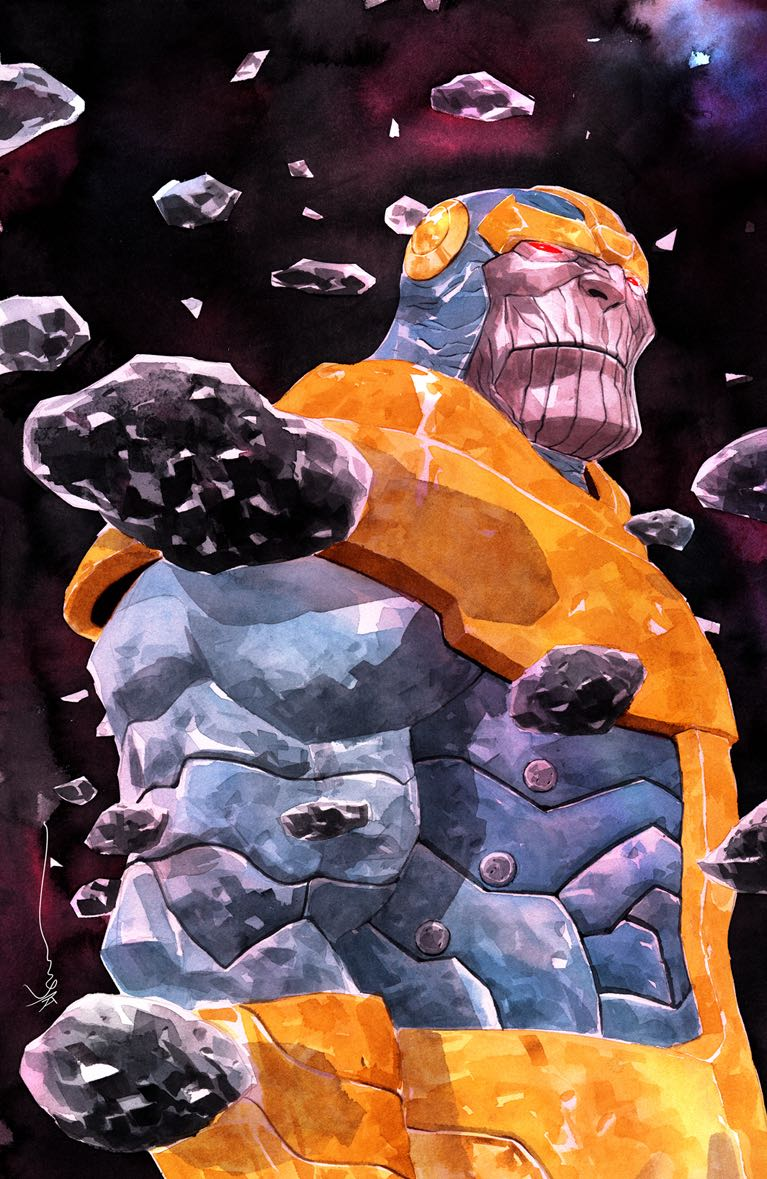 Thanos #2 (Dustin Nguyen Variant Cover)