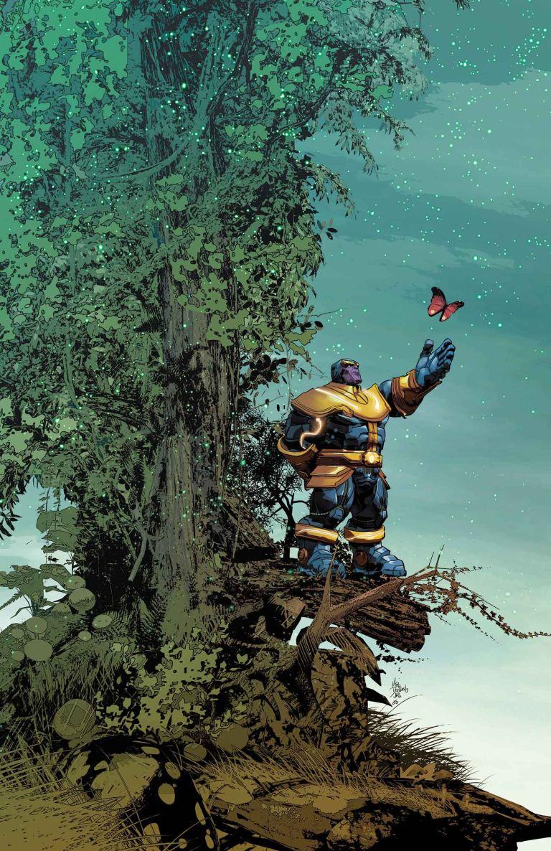 Thanos #2 (Mike Deodato Regular Cover)
