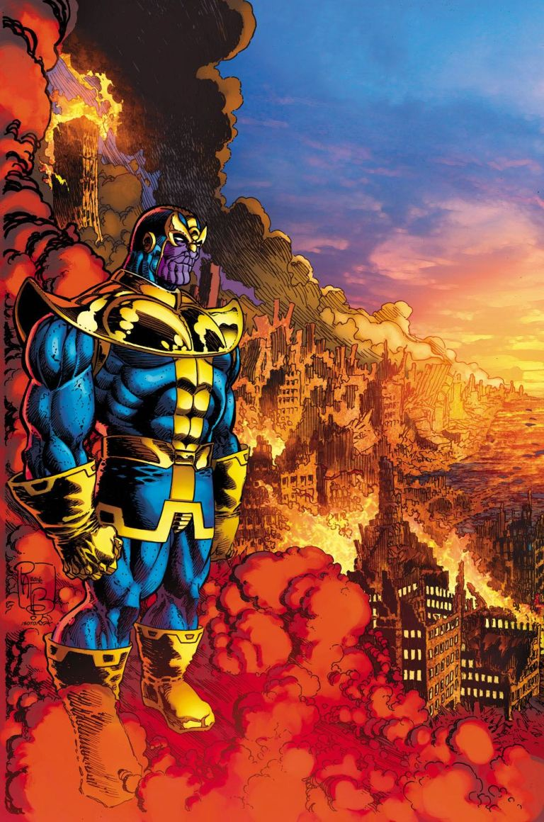 Thanos #3 (Pat Broderick Variant Cover)