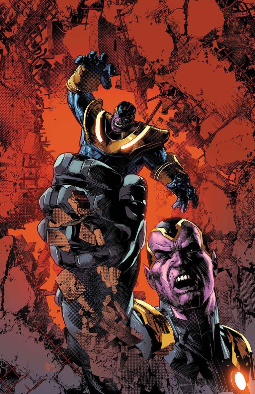 Thanos #4 (Mike Deodato Regular Cover)