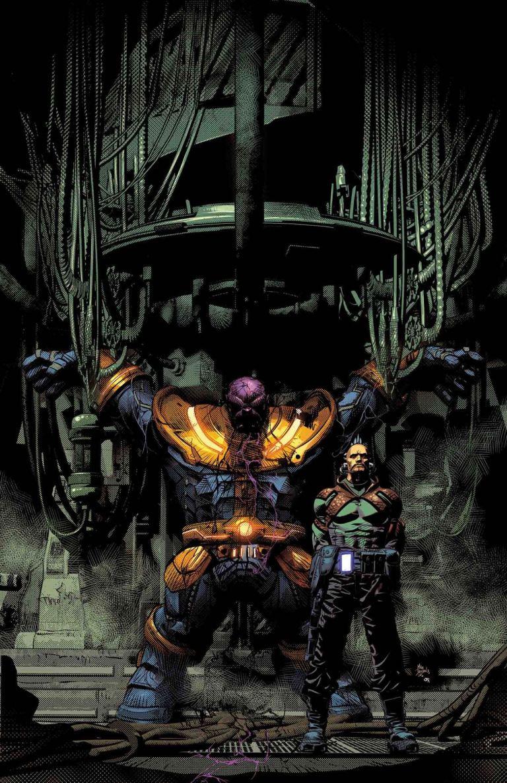 Thanos #5 (Mike Deodato Regular Cover)